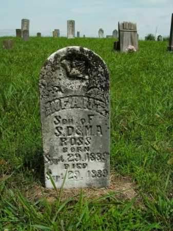 ROSS, INFANT SON - Boone County, Arkansas | INFANT SON ROSS - Arkansas Gravestone Photos