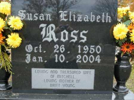 ROSS, SUSAN ELIZABETH - Boone County, Arkansas | SUSAN ELIZABETH ROSS - Arkansas Gravestone Photos