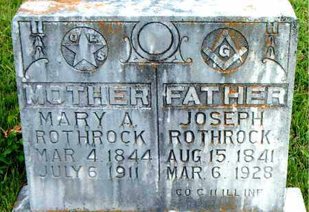 ROTHROCK  (VETERAN UNION), JOSEPH - Boone County, Arkansas | JOSEPH ROTHROCK  (VETERAN UNION) - Arkansas Gravestone Photos