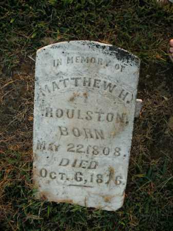 ROULSTON, MATTHEW HARVEY - Boone County, Arkansas | MATTHEW HARVEY ROULSTON - Arkansas Gravestone Photos