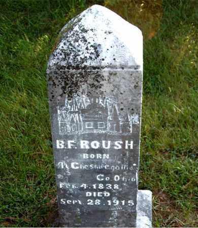 ROUSH, B.  F. - Boone County, Arkansas | B.  F. ROUSH - Arkansas Gravestone Photos