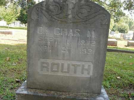 ROUTH, CHARLES M. - Boone County, Arkansas | CHARLES M. ROUTH - Arkansas Gravestone Photos