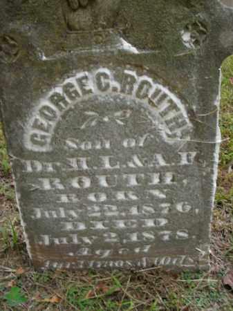 ROUTH, GEORGE C. - Boone County, Arkansas | GEORGE C. ROUTH - Arkansas Gravestone Photos