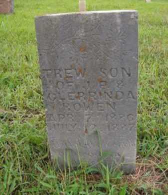 ROWEN, TREW - Boone County, Arkansas | TREW ROWEN - Arkansas Gravestone Photos