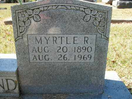 ROWLAND, MYRTLE R. - Boone County, Arkansas | MYRTLE R. ROWLAND - Arkansas Gravestone Photos