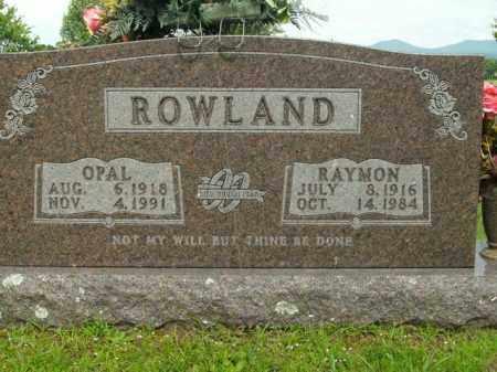 ROWLAND, OPAL MAE - Boone County, Arkansas | OPAL MAE ROWLAND - Arkansas Gravestone Photos