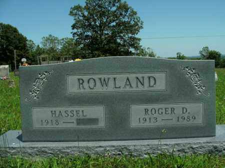 ROWLAND, ROGER D. - Boone County, Arkansas | ROGER D. ROWLAND - Arkansas Gravestone Photos