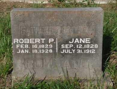 ROWLAND, JANE - Boone County, Arkansas   JANE ROWLAND - Arkansas Gravestone Photos