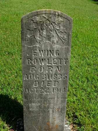 ROWLETT, EWING - Boone County, Arkansas | EWING ROWLETT - Arkansas Gravestone Photos