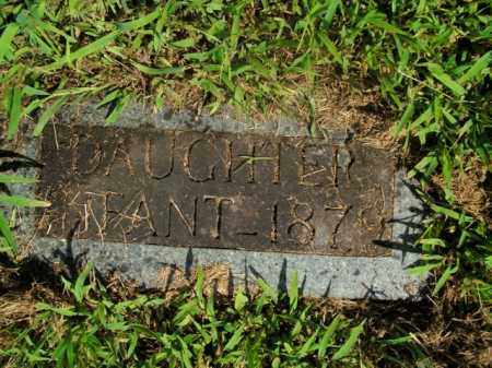 ROY, INFANT DAUGHTER - Boone County, Arkansas | INFANT DAUGHTER ROY - Arkansas Gravestone Photos