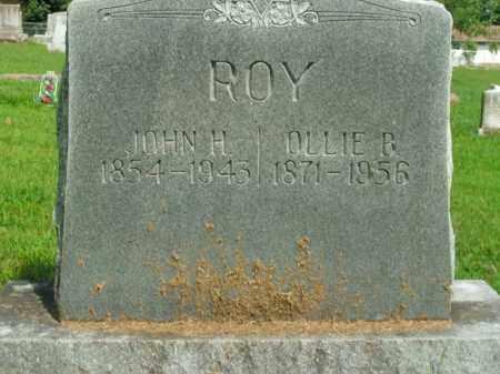 ROY, JOHN H. - Boone County, Arkansas | JOHN H. ROY - Arkansas Gravestone Photos