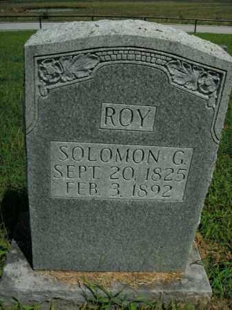 ROY, SOLOMON G. - Boone County, Arkansas | SOLOMON G. ROY - Arkansas Gravestone Photos