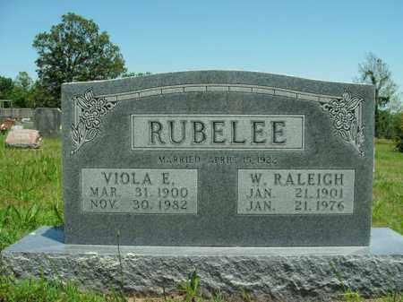 RUBELEE, VIOLA E. - Boone County, Arkansas | VIOLA E. RUBELEE - Arkansas Gravestone Photos