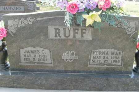 RUFF, VERNA MAE - Boone County, Arkansas   VERNA MAE RUFF - Arkansas Gravestone Photos