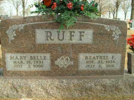RUFF, MARY BELLE - Boone County, Arkansas | MARY BELLE RUFF - Arkansas Gravestone Photos