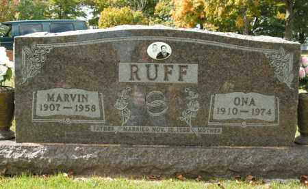 RUFF, MARVIN - Boone County, Arkansas | MARVIN RUFF - Arkansas Gravestone Photos