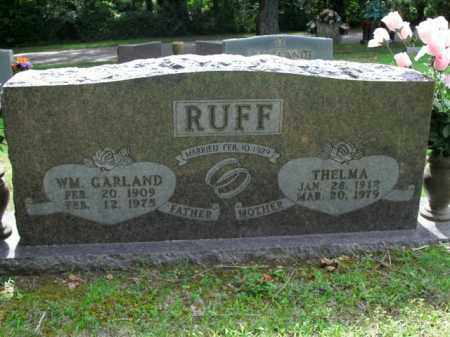 RUFF, THELMA - Boone County, Arkansas | THELMA RUFF - Arkansas Gravestone Photos