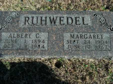 RUHWEDEL, ALBERT C. - Boone County, Arkansas | ALBERT C. RUHWEDEL - Arkansas Gravestone Photos