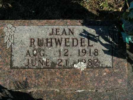 RUHWEDEL, JEAN - Boone County, Arkansas | JEAN RUHWEDEL - Arkansas Gravestone Photos