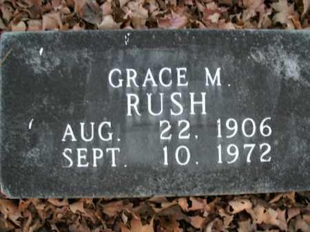 RUSH, GRACE M. - Boone County, Arkansas | GRACE M. RUSH - Arkansas Gravestone Photos