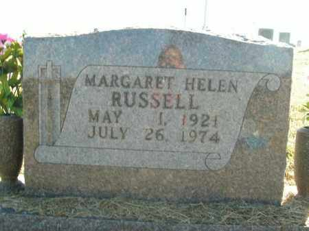 RUSSELL, MARGARET HELEN - Boone County, Arkansas | MARGARET HELEN RUSSELL - Arkansas Gravestone Photos