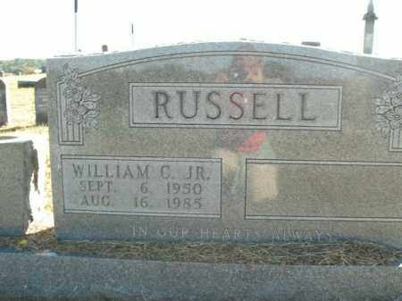 RUSSELL, WILLIAM C. JR - Boone County, Arkansas | WILLIAM C. JR RUSSELL - Arkansas Gravestone Photos