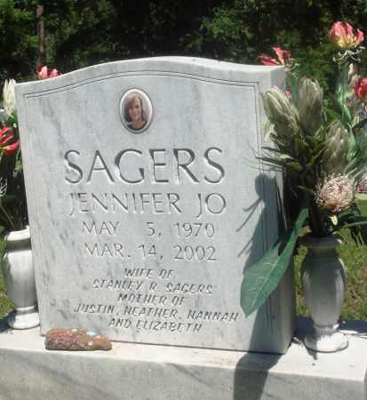 SAGERS, JENNIFER JO - Boone County, Arkansas | JENNIFER JO SAGERS - Arkansas Gravestone Photos