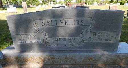 SALLEE, JR, THOMAS CARROLL - Boone County, Arkansas   THOMAS CARROLL SALLEE, JR - Arkansas Gravestone Photos