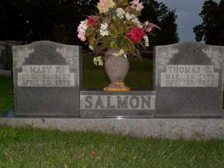 SALMON, THOMAS B. - Boone County, Arkansas | THOMAS B. SALMON - Arkansas Gravestone Photos