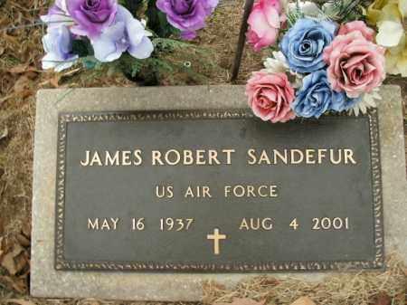 SANDEFUR  (VETERAN), JAMES ROBERT - Boone County, Arkansas   JAMES ROBERT SANDEFUR  (VETERAN) - Arkansas Gravestone Photos