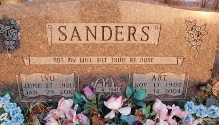 SANDERS, ART - Boone County, Arkansas   ART SANDERS - Arkansas Gravestone Photos