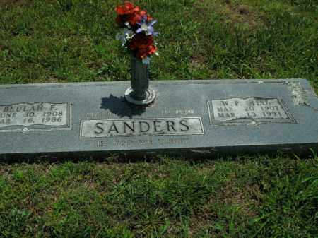 SANDERS, W.P. (TED) - Boone County, Arkansas | W.P. (TED) SANDERS - Arkansas Gravestone Photos