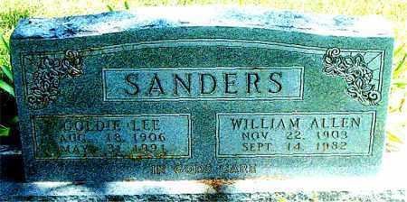 SANDERS, GOLDIE LEE - Boone County, Arkansas | GOLDIE LEE SANDERS - Arkansas Gravestone Photos