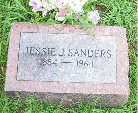 SANDERS, JESSIE JAMES - Boone County, Arkansas | JESSIE JAMES SANDERS - Arkansas Gravestone Photos