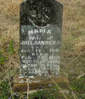 SANDERS, MARIA - Boone County, Arkansas | MARIA SANDERS - Arkansas Gravestone Photos
