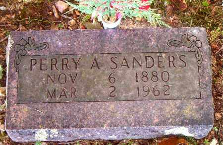 SANDERS, PERRY  AUSTIN - Boone County, Arkansas | PERRY  AUSTIN SANDERS - Arkansas Gravestone Photos