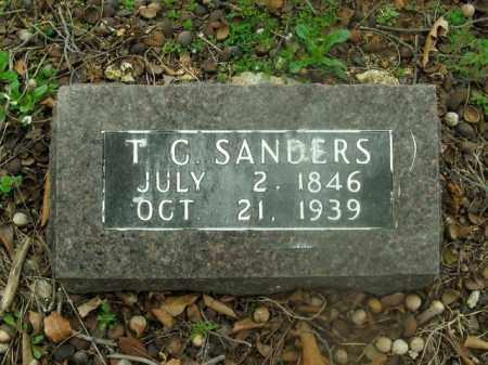 SANDERS, T.C. - Boone County, Arkansas | T.C. SANDERS - Arkansas Gravestone Photos