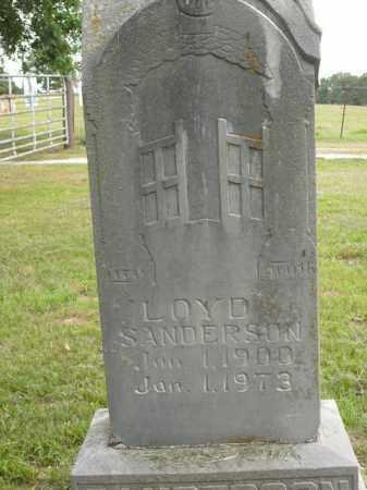 SANDERSON, LOYD - Boone County, Arkansas | LOYD SANDERSON - Arkansas Gravestone Photos
