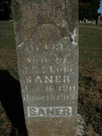 SANER, ORRIN - Boone County, Arkansas | ORRIN SANER - Arkansas Gravestone Photos