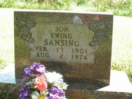 SANSING, EWING - Boone County, Arkansas | EWING SANSING - Arkansas Gravestone Photos