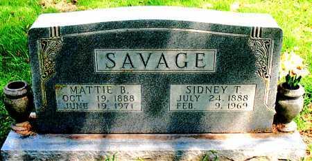 SAVAGE, MATTIE B. - Boone County, Arkansas | MATTIE B. SAVAGE - Arkansas Gravestone Photos