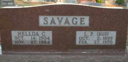 "SAVAGE, L.P. ""BUD"" - Boone County, Arkansas 