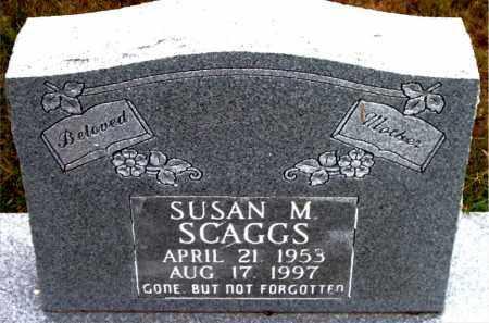 SCAGGS, SUSAN M - Boone County, Arkansas | SUSAN M SCAGGS - Arkansas Gravestone Photos