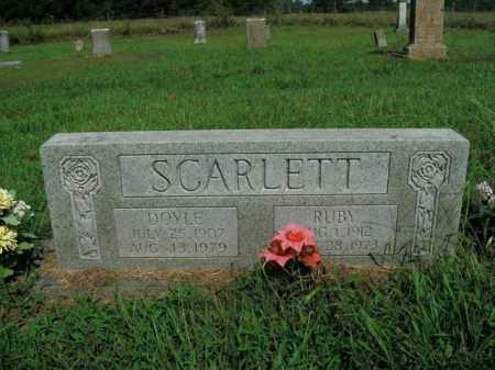 SCARLETT, RUBY - Boone County, Arkansas | RUBY SCARLETT - Arkansas Gravestone Photos