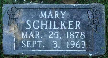 SCHILKER, MARY - Boone County, Arkansas | MARY SCHILKER - Arkansas Gravestone Photos