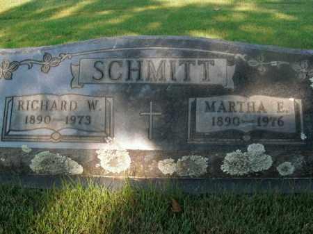 SCHMITT, MARTHA E. - Boone County, Arkansas | MARTHA E. SCHMITT - Arkansas Gravestone Photos