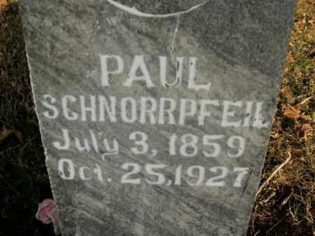 SCHNORRPFEIL, PAUL - Boone County, Arkansas   PAUL SCHNORRPFEIL - Arkansas Gravestone Photos