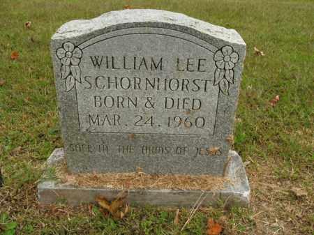 SCHORNHORST, WILLIAM LEE - Boone County, Arkansas | WILLIAM LEE SCHORNHORST - Arkansas Gravestone Photos