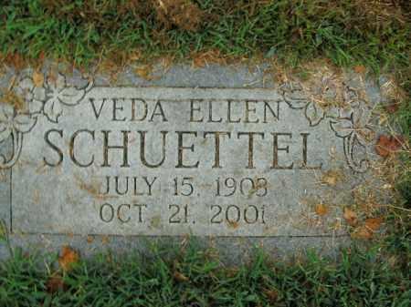 SCHUETTEL, VEDA ELLEN - Boone County, Arkansas   VEDA ELLEN SCHUETTEL - Arkansas Gravestone Photos