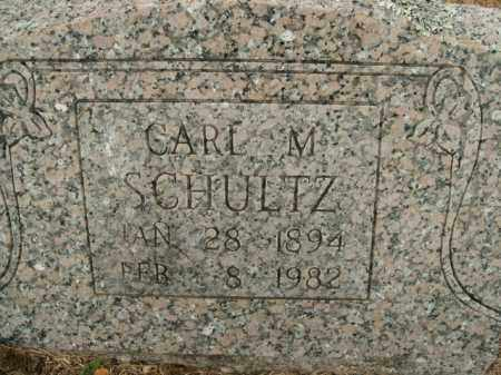 SCHULTZ, CARL M. - Boone County, Arkansas | CARL M. SCHULTZ - Arkansas Gravestone Photos